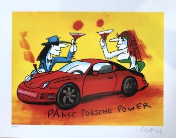 Udo Lindenberg Panic Porsche Power - Siebdruck