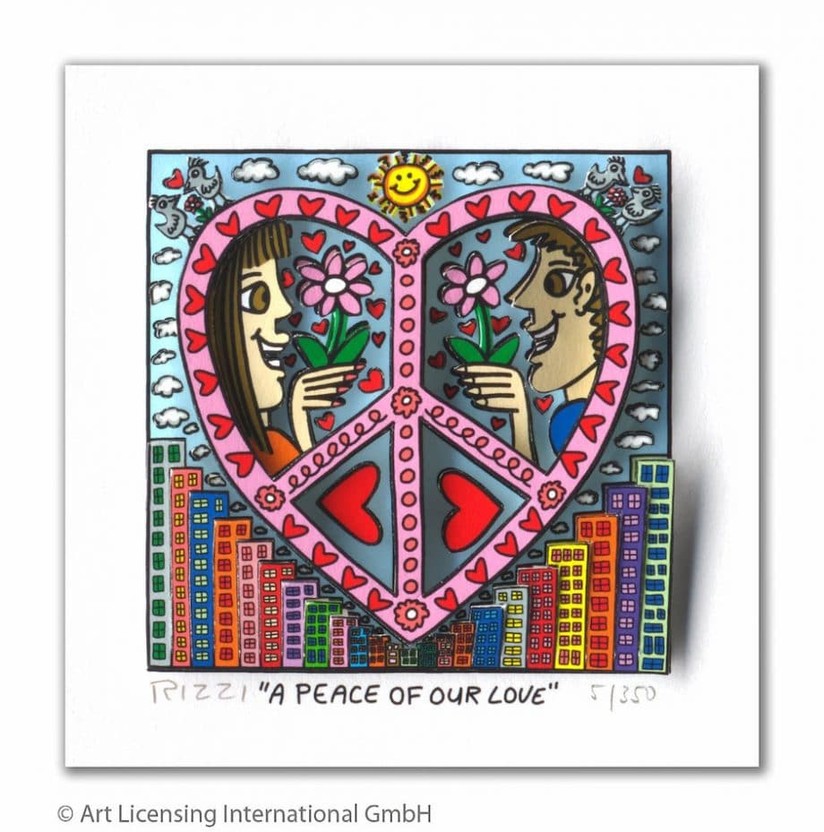 James Rizzi | A peace of our love