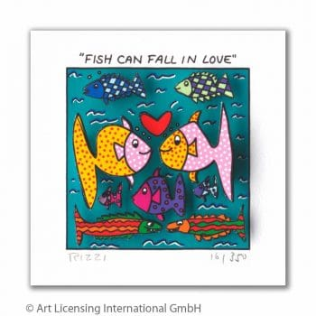James Rizzi | Fish can fall in love
