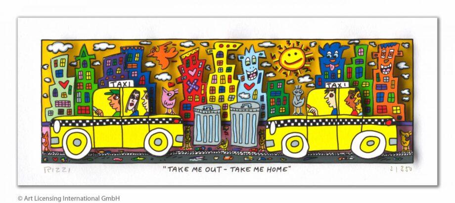 James Rizzi |Take me out - take me home