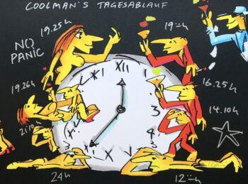 Udo Lindenberg Coolmans Tagesablauf - Siebdruck