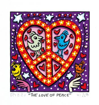 James Rizzi | The love of peace