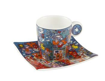 James Rizzi | Espressotasse City birds