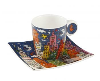 James Rizzi | Espressotasse City night