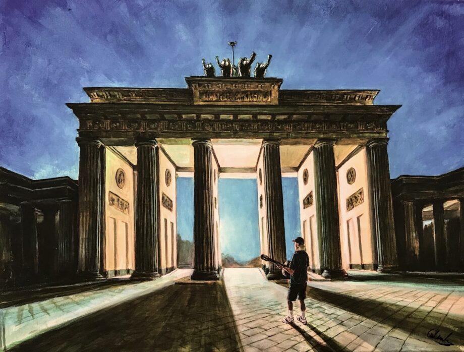 Otto Waalkes One morning in Berlin