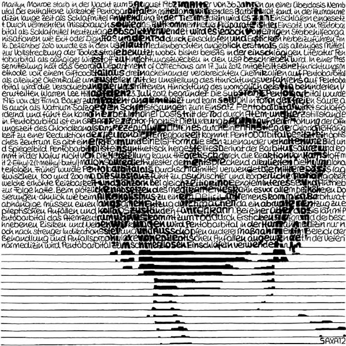 SAXA Marilyn Monroe