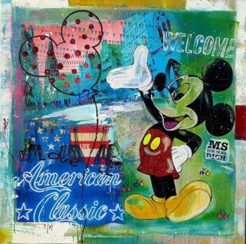 Tanja Kiesewalter Welcome says Mickey, oder: Mickey loves Münster