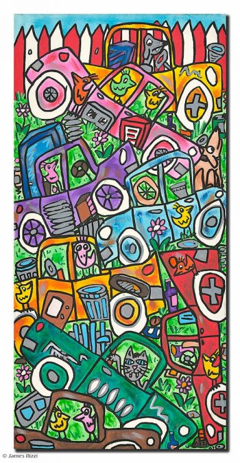 James Rizzi | Junk, junk and more junk