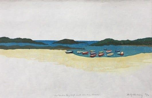 Antje Wichtrey | Der Nachmittag liegt sanft über dem Wasser