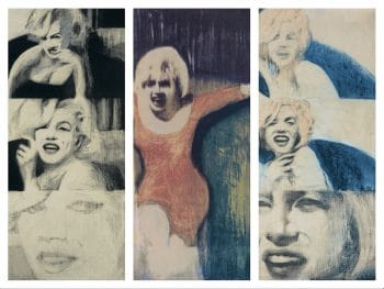 James Francis Gill Marilyn Triptych 2 - Collector's Edition