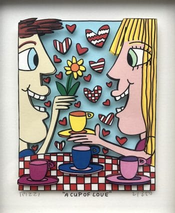 James Rizzi A cup of love