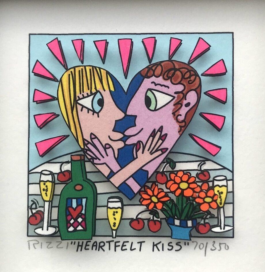 James Rizzi | Heartfelt Kiss