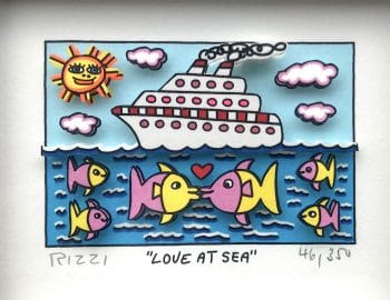 James Rizzi | Love at sea