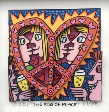 James Rizzi | The Kiss of Peace
