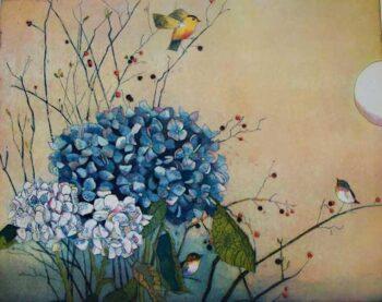 Jutta Votteler | Im Hortensiengarten