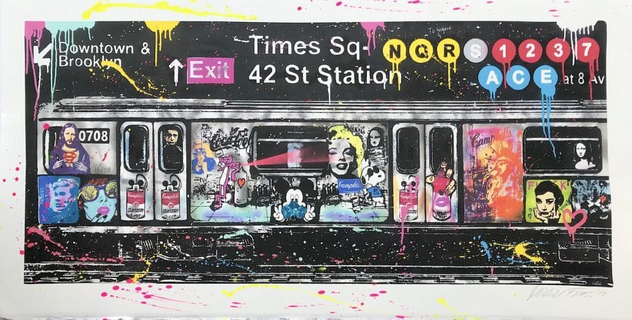 Michel Friess Ultimate Pop Times Square 42 St Station