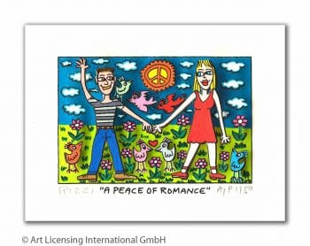 James Rizzi A peace of romance