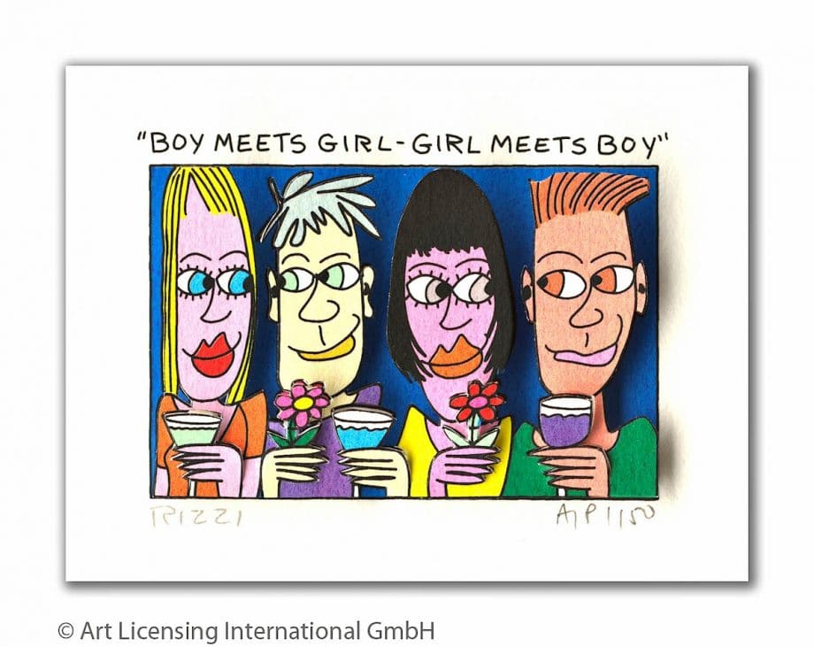 James Rizzi Boy meets girl - girl meets boy