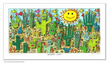 James Rizzi | Desert Life