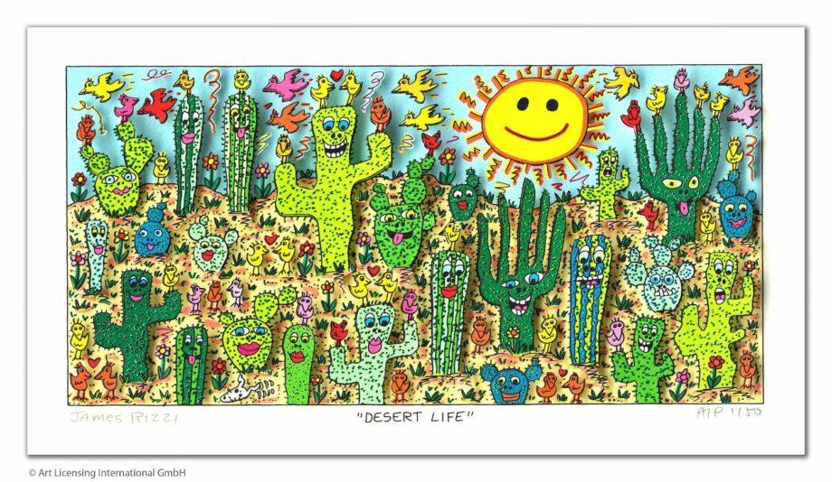 James Rizzi Desert Life