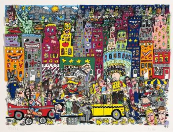 James Rizzi | Eat at Porky's