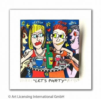 James Rizzi Let's party
