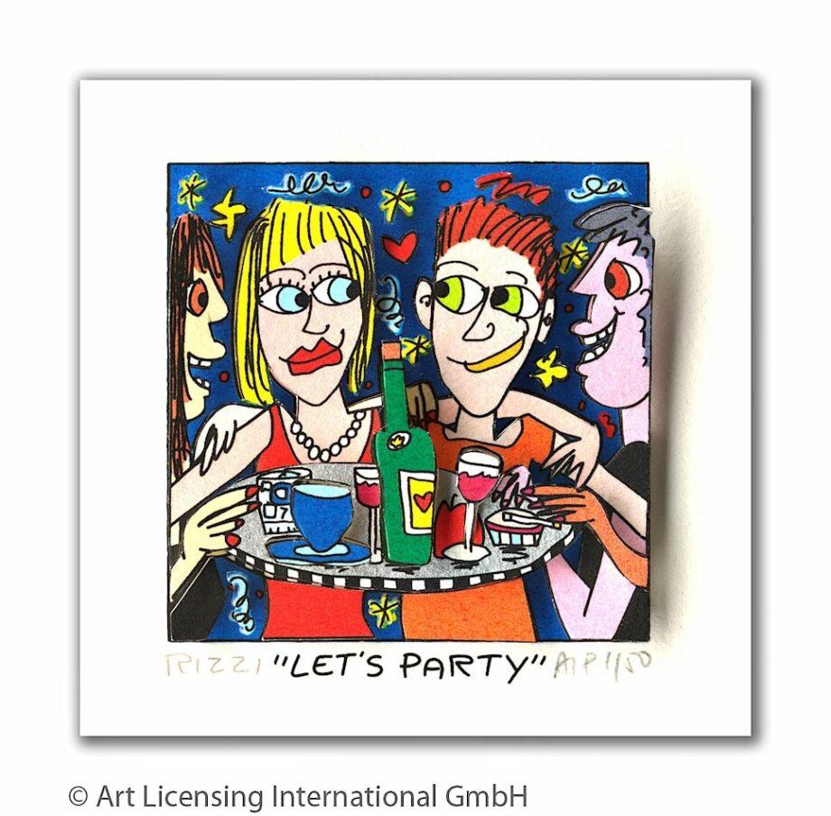 James Rizzi Let's party