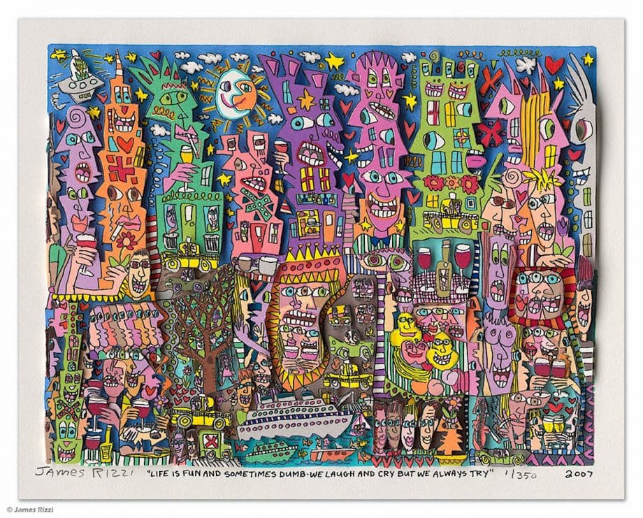 James Rizzi | Life is fun and sometimes dumb