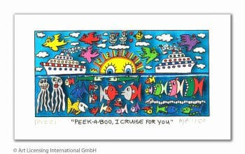 James Rizzi Peek a boo, I cruise for you