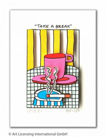 James Rizzi Take a break