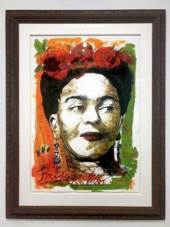 Thomas Jankowski Frida Kahlo (gerahmt)