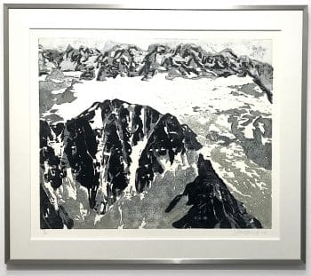 Armin Weinbrenner | Hohe Berge 1 (gerahmt)