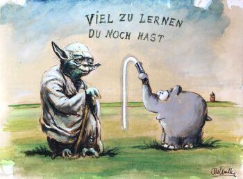 Otto Waalkes Viel zu lernen du noch hast
