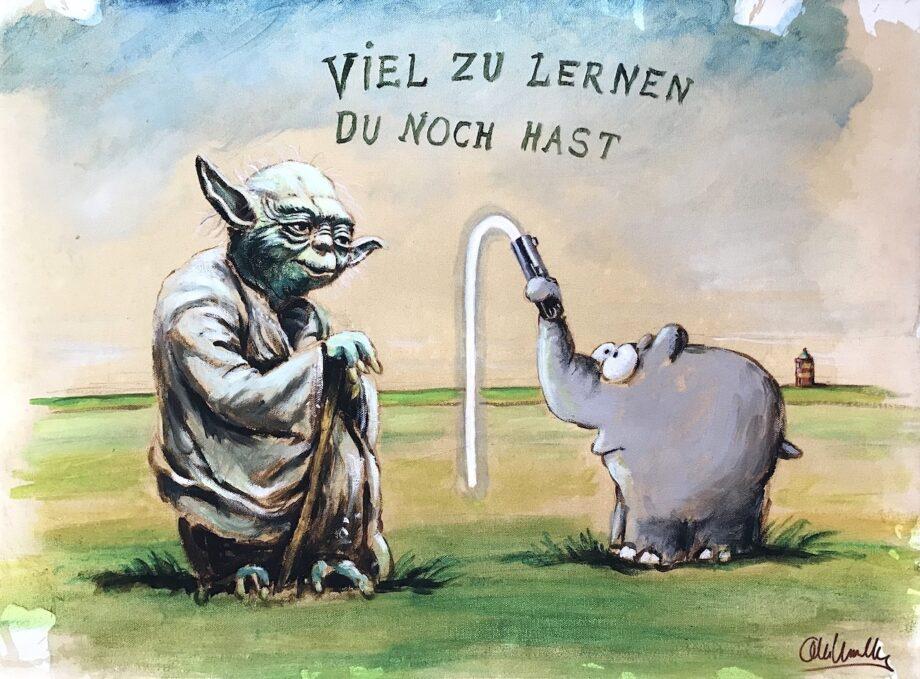 Otto Waalkes Leinwandbilder