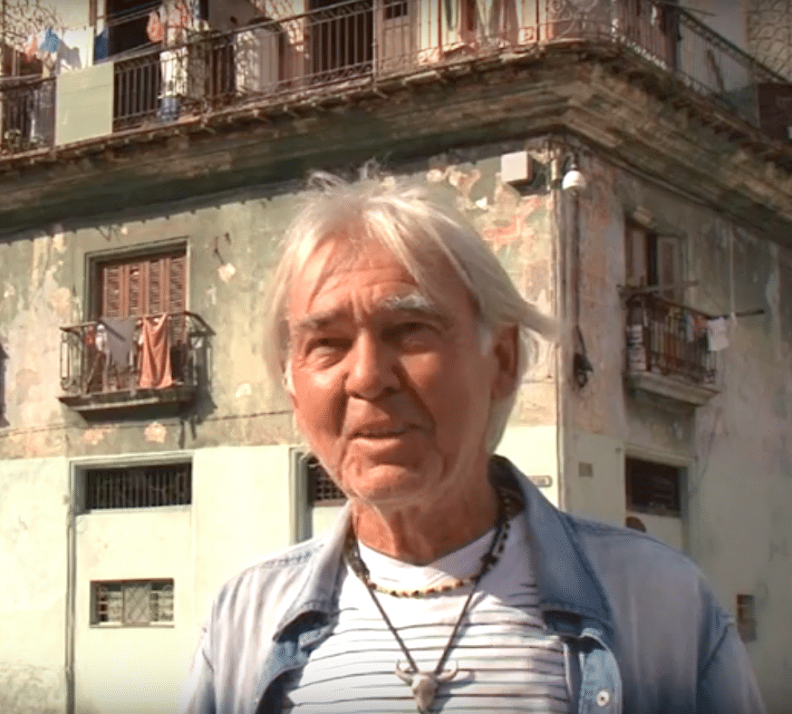 Christian Sommer in Havanna