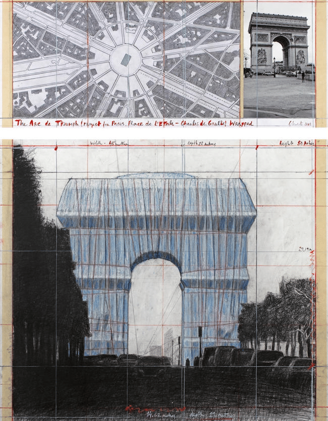 Christo Arc de Triomphe Neuer Termin