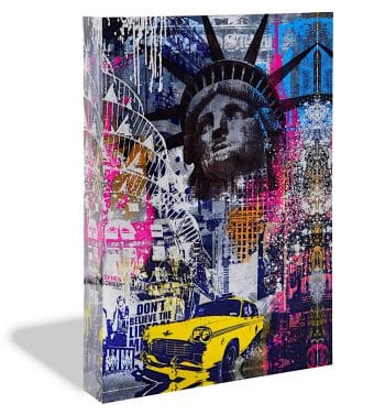 Devin Miles New York Acrylblock