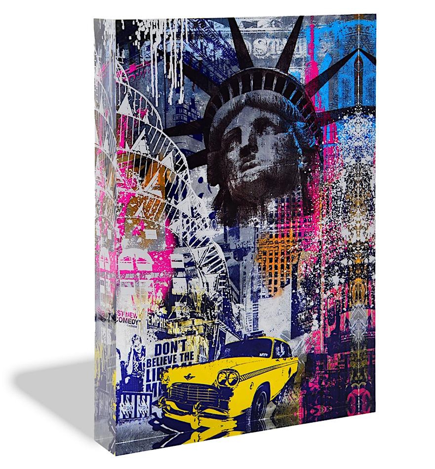 Devin Miles New York Acrylblock