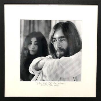 Elmar Welge John and Yoko 1969