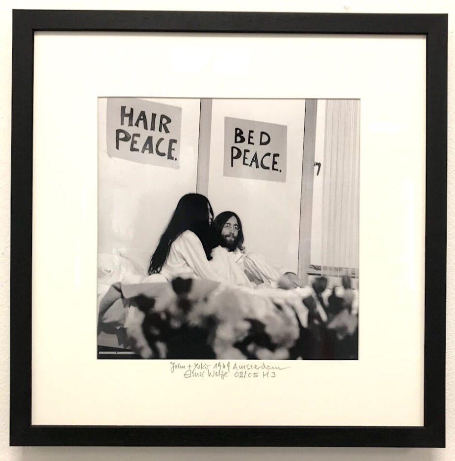 Elmar Welge John and Yoko Peace