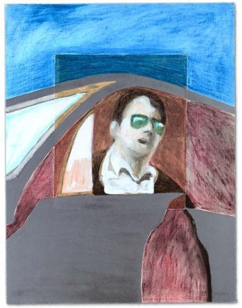 James Francis Gill Man in car