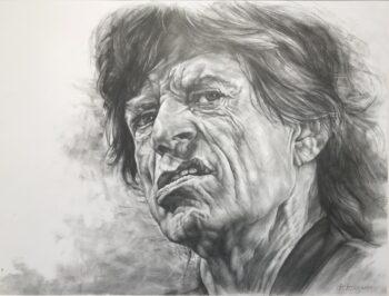 Karin Engel Mick Jagger