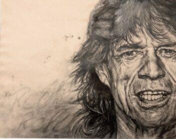 Karin Engel Mick Jagger 2