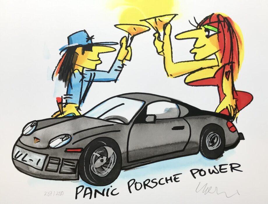 Udo Lindenberg Panic Porsche Power