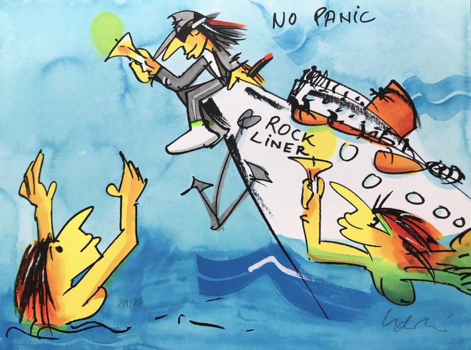 Udo Lindenberg Rockliner No Panic