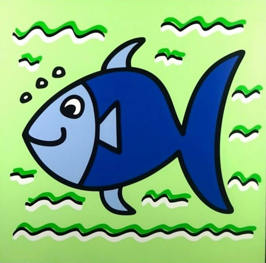 James Rizzi Icon Fish