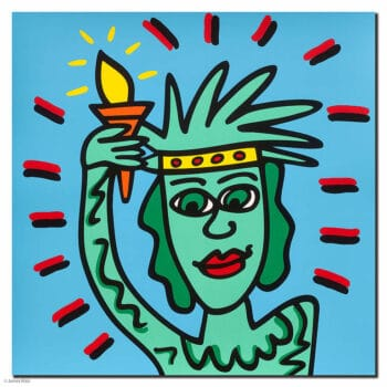 James Rizzi Icon Liberty