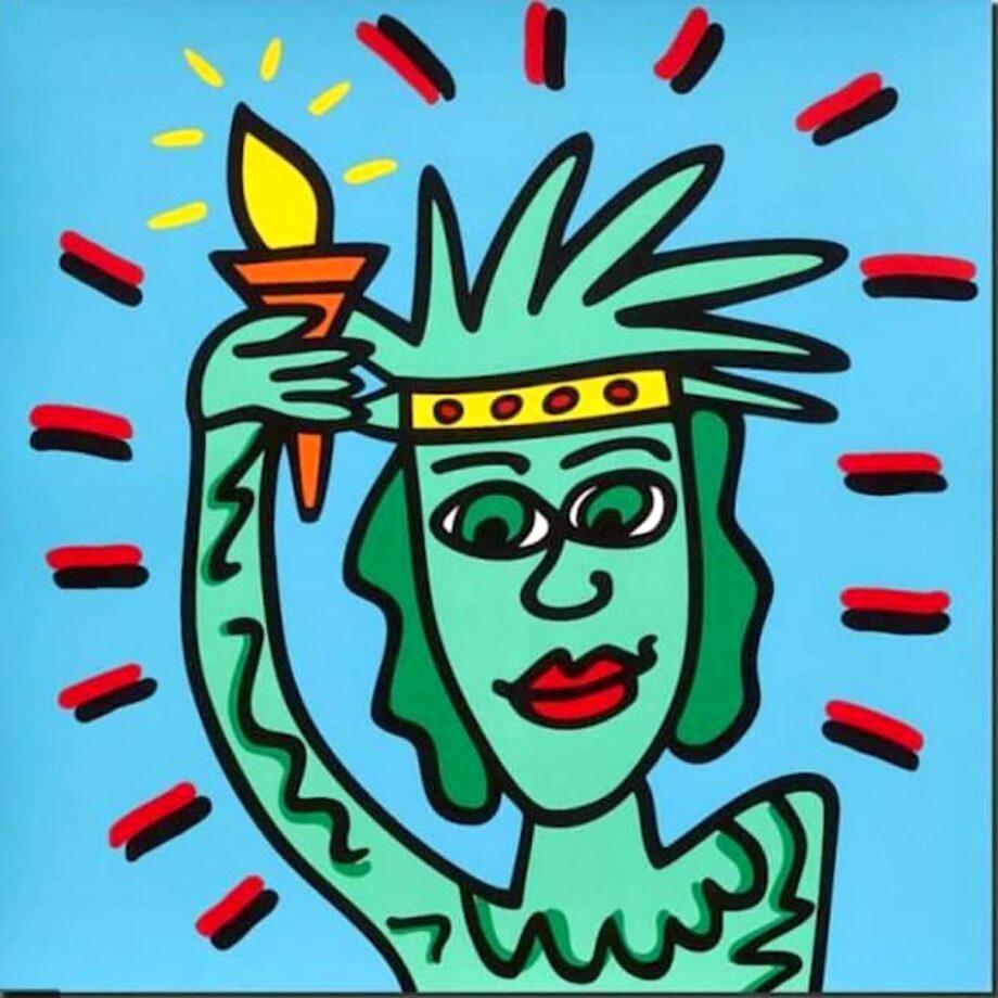 James Rizzi Icon Liberty
