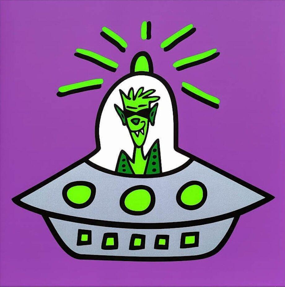 James Rizzi Icon Ufo