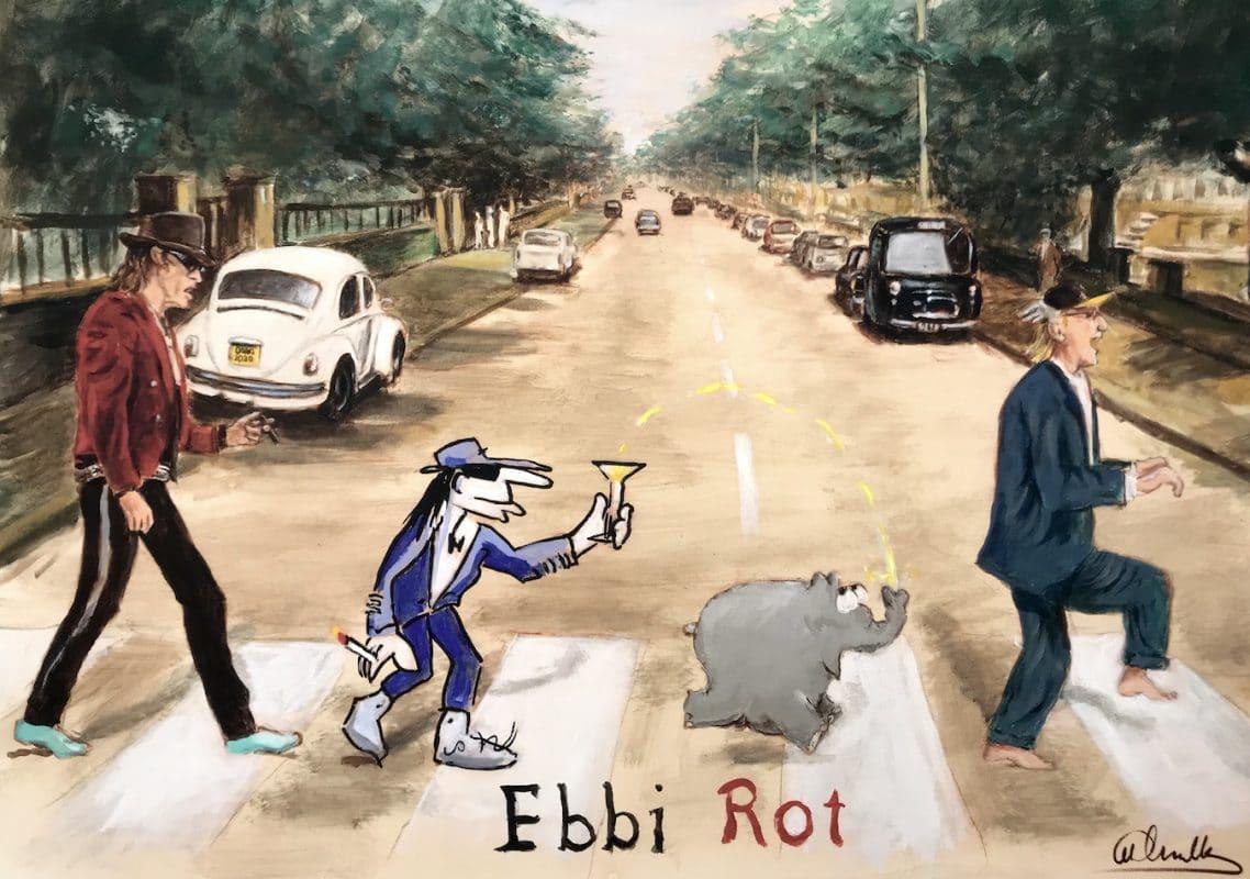 Otto Waalkes Ebbi rot